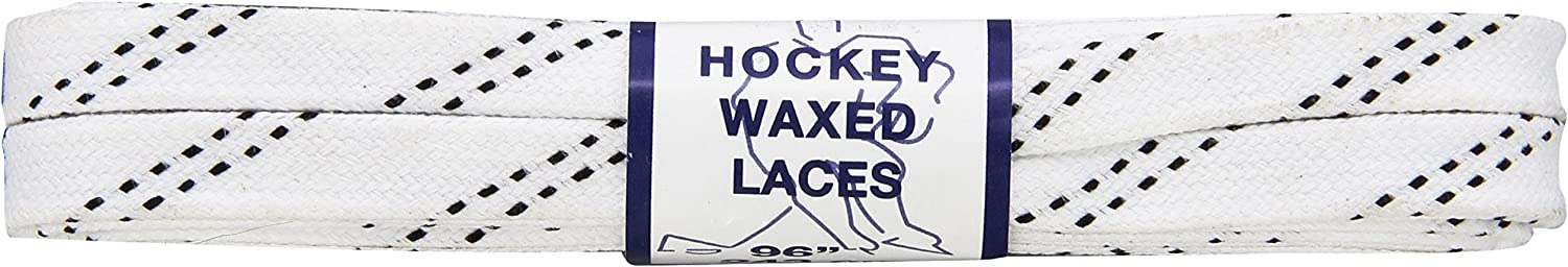Proguard Plastic Tipped Waxed Hockey Laces Banded