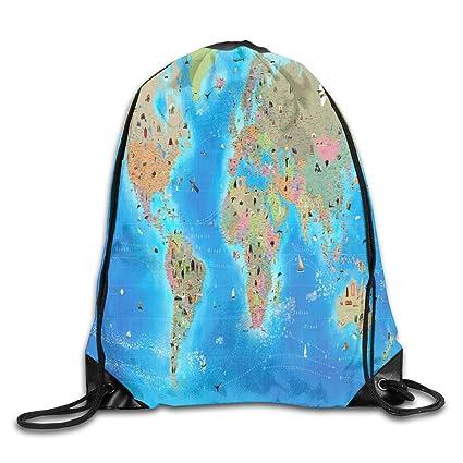 89bfa39a2f29 Amazon.com | Mastexoru drawstring backpack Bag INSIDE INTERACTIVE ...