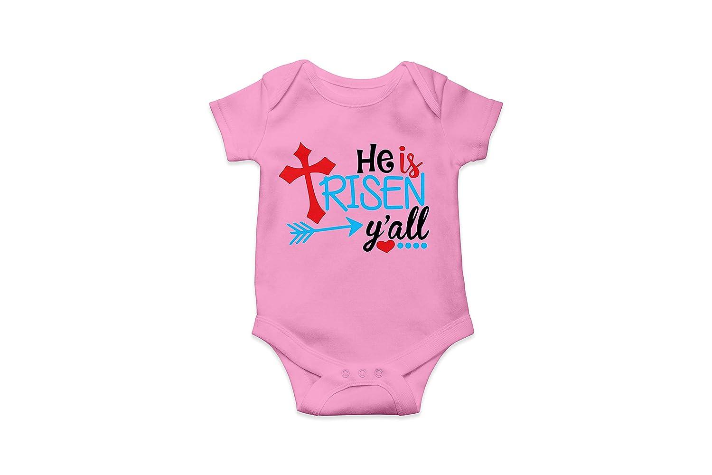 He Is Risen Easter Design ~ Baby Bodysuit