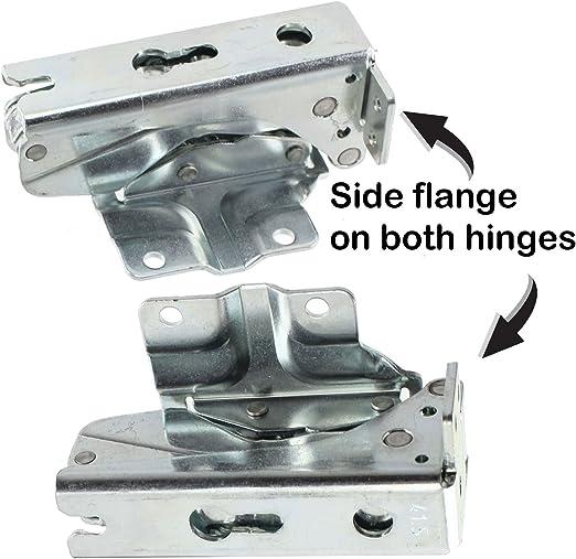 Spares2go Hettich 5.0 41.5 - Bisagras para puerta de frigorífico ...
