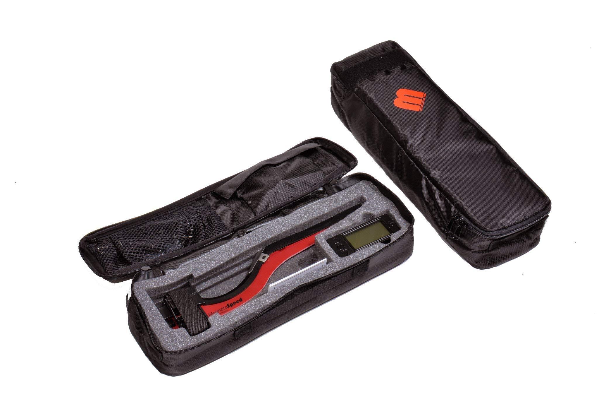 MagnetoSpeed V3 Barrel-Mounted Ballistics Chronograph Kit, Black, Softcase by MagnetoSpeed