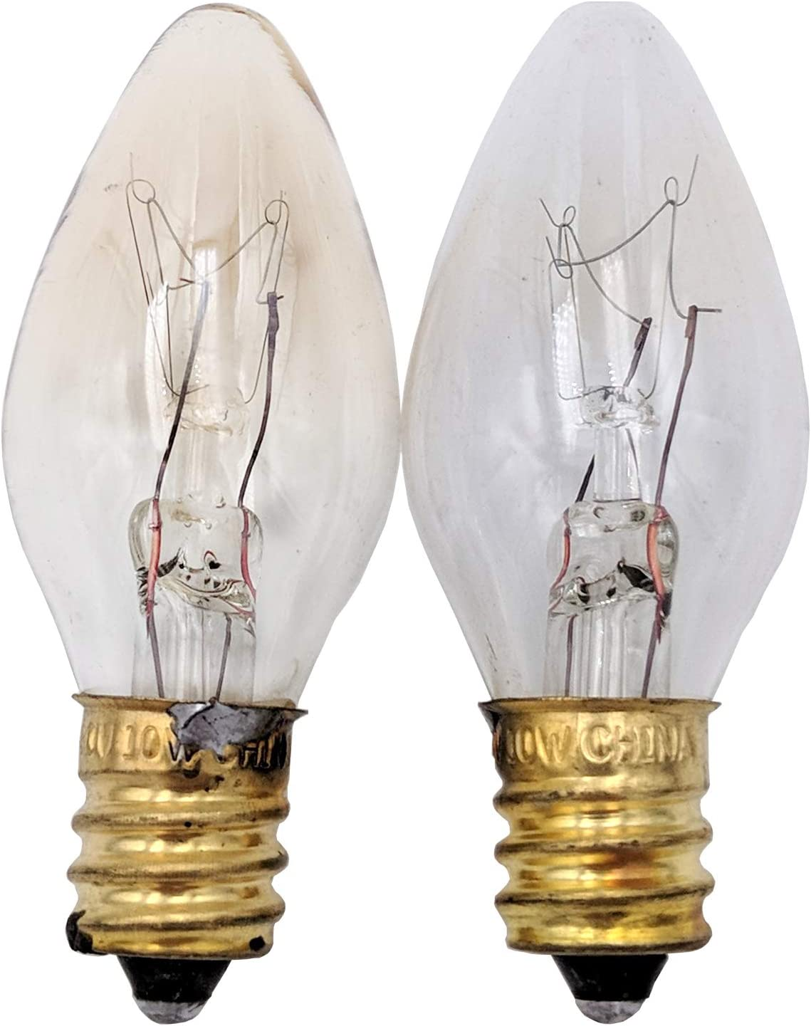 Supplying Demand 22002263 10 Watt 120 Volt Appliance Light Bulb 2 Pack