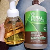 Amazon Com Desert Essence Thorough Clean Face Wash Oily