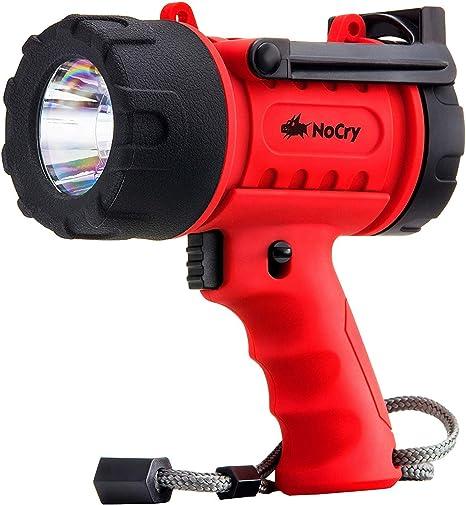 de Spotlight avec DEL 1000 lm Nocry Imperméable 18 W rechargeable lampe de poche