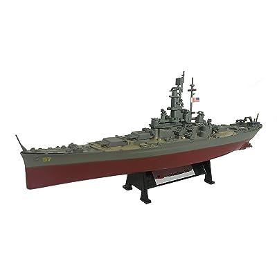 USS South Dakota 1945 - 1:1000 Ship Model (Amercom ST-9): Toys & Games