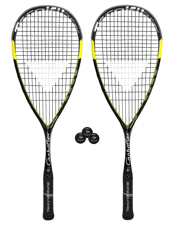 Tecnifibre Carboflex 125 S Squash Schl/äger Verschiedene Optionen
