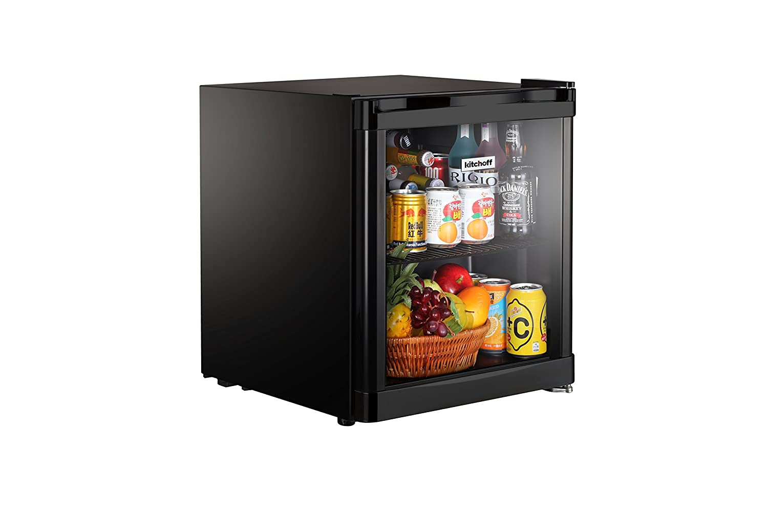 tiny refrigerator office. Shopping Tadka Kitchoff 50 Litre Mini Refrigerator With Glass Door For Office And Home, Black: Amazon.in: Home \u0026 Kitchen Tiny P