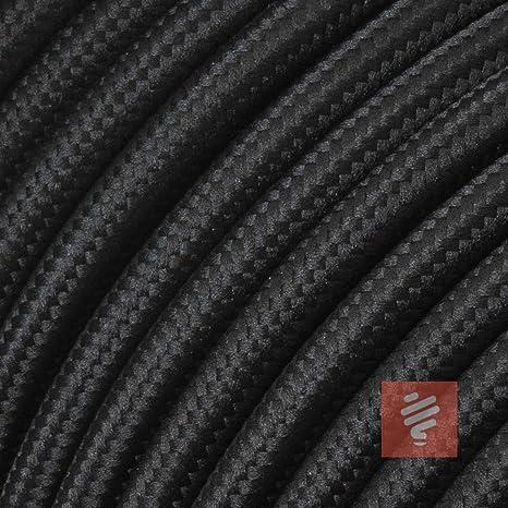 3-adrig 3 m Textilkabel weiß