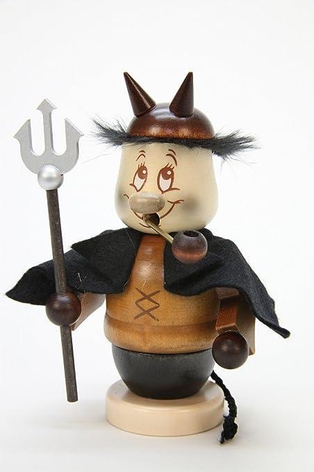 amazon com german incense smoker mini gnome devil 13 5cm 5