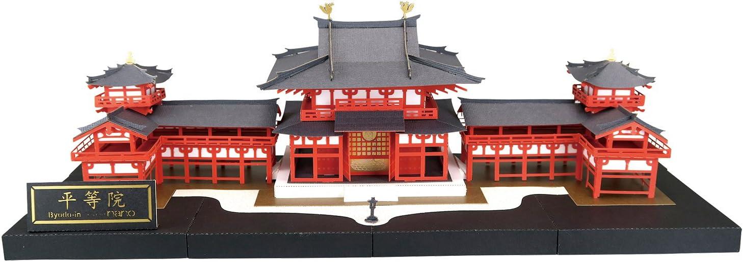 Paper Nano Byodo-in Deluxe Building Set