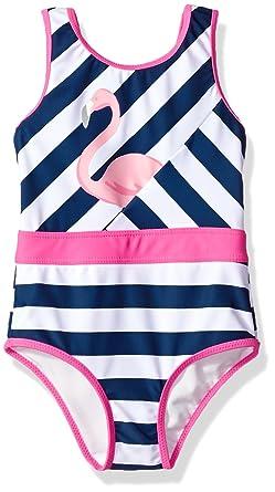 ebe7d5e34e Amazon.com: Tommy Bahama Girls' 1-Piece Swimsuit Bathing Suit: Clothing