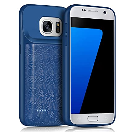 Galaxy S7 Battery Case,JUBOTY 4700mAh Protective Portable Charging Case for  Samsung Galaxy S7 Juice Bank Power Pack Charger Case(24 Month Warranty)