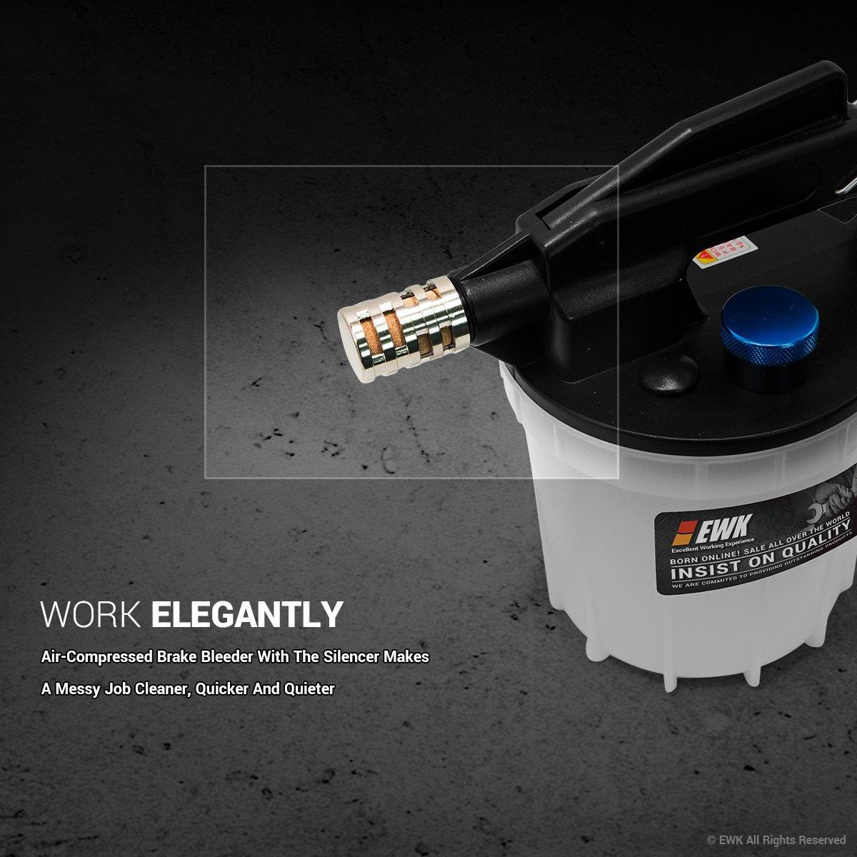 EWK Pneumatic Air Brake Fluid Oil Bleeder Extractor Pump by EWK (Image #4)