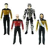 "Bif Bang Pow! The Big Bang Theory/Star Trek: The Next Generation Figures Set, 3 3/4"""