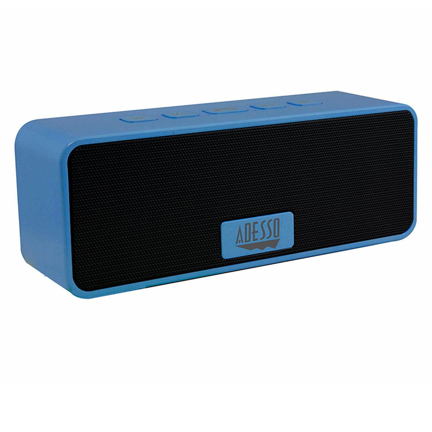 Adesso Xtream S2 Bluetooth 3.0 Portable Wireless Speakers for iPod, iPhone and Smartphones with Built-In Microphone