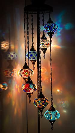 Chandelier floor chandelier ceiling lights turkish lamps hanging chandelier floor chandelier ceiling lights turkish lamps hanging mosaic lights pendant aloadofball Image collections