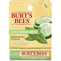 Burt's Bees Cucumber And Mint Lip Balm, 1 Tube