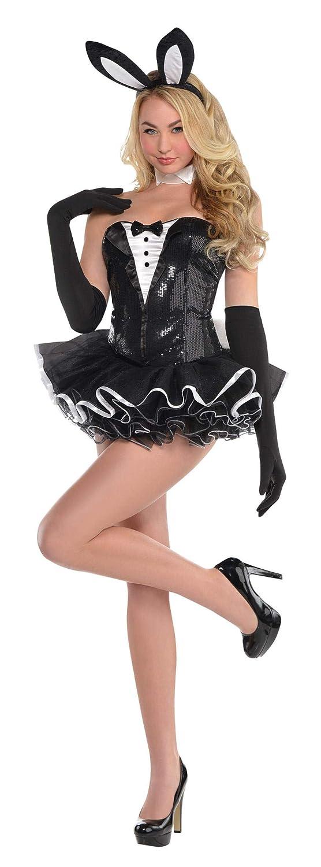 Enter-Deal-Berlin Damen Kostüm Bunny Häschen Größe 36/38 (M) schwarz