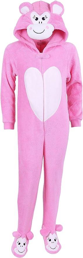 Monito Rosa- Pijama cálido