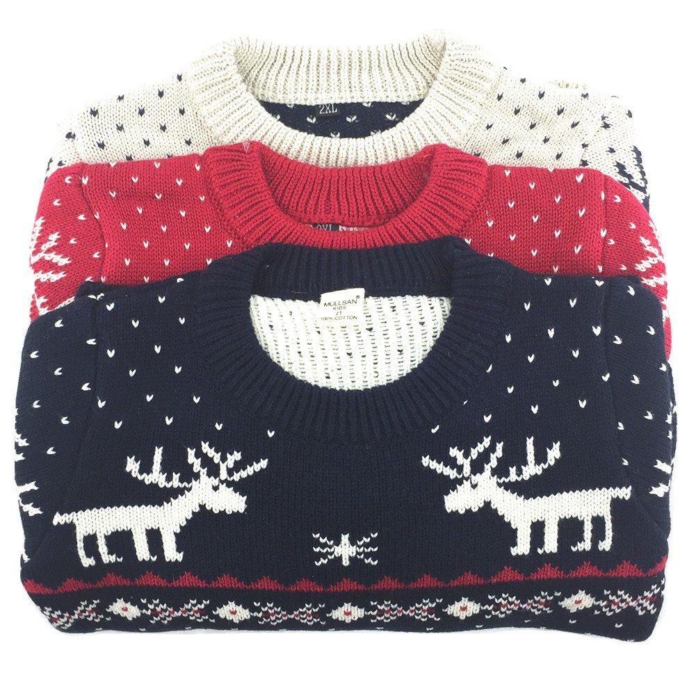 3235c7555e11 MULLSAN Childrens Fireplace Lovely Sweater Christmas Best Gift