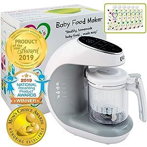 Evla's Baby Food Maker.