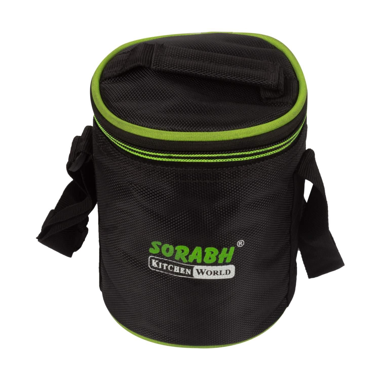Sorabh HPTE 83 HPT Elegant (8X3) Hot Pot Zipper Box | Lunch