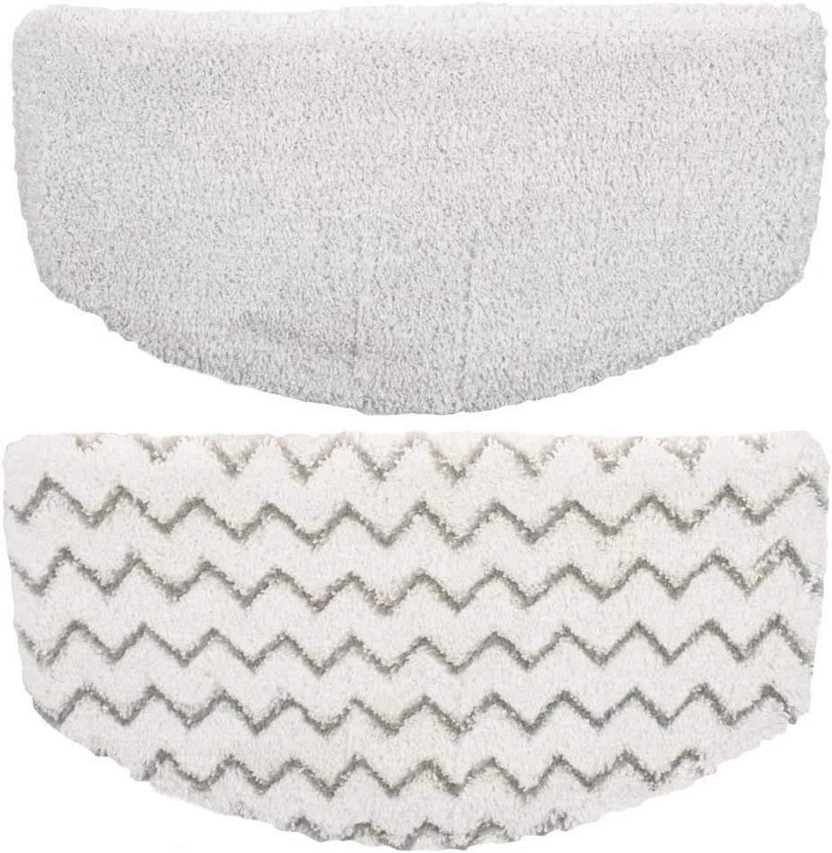 Eshoppercity Brand Washable Steam Mop Pads Replacement for Bissell Powerfresh 1940 1544 1440 Series Steam Mop, Model 1544A, 2075A, 1806, 5938, 1940W, 1940Q,19408, 19404, 1940A (2)