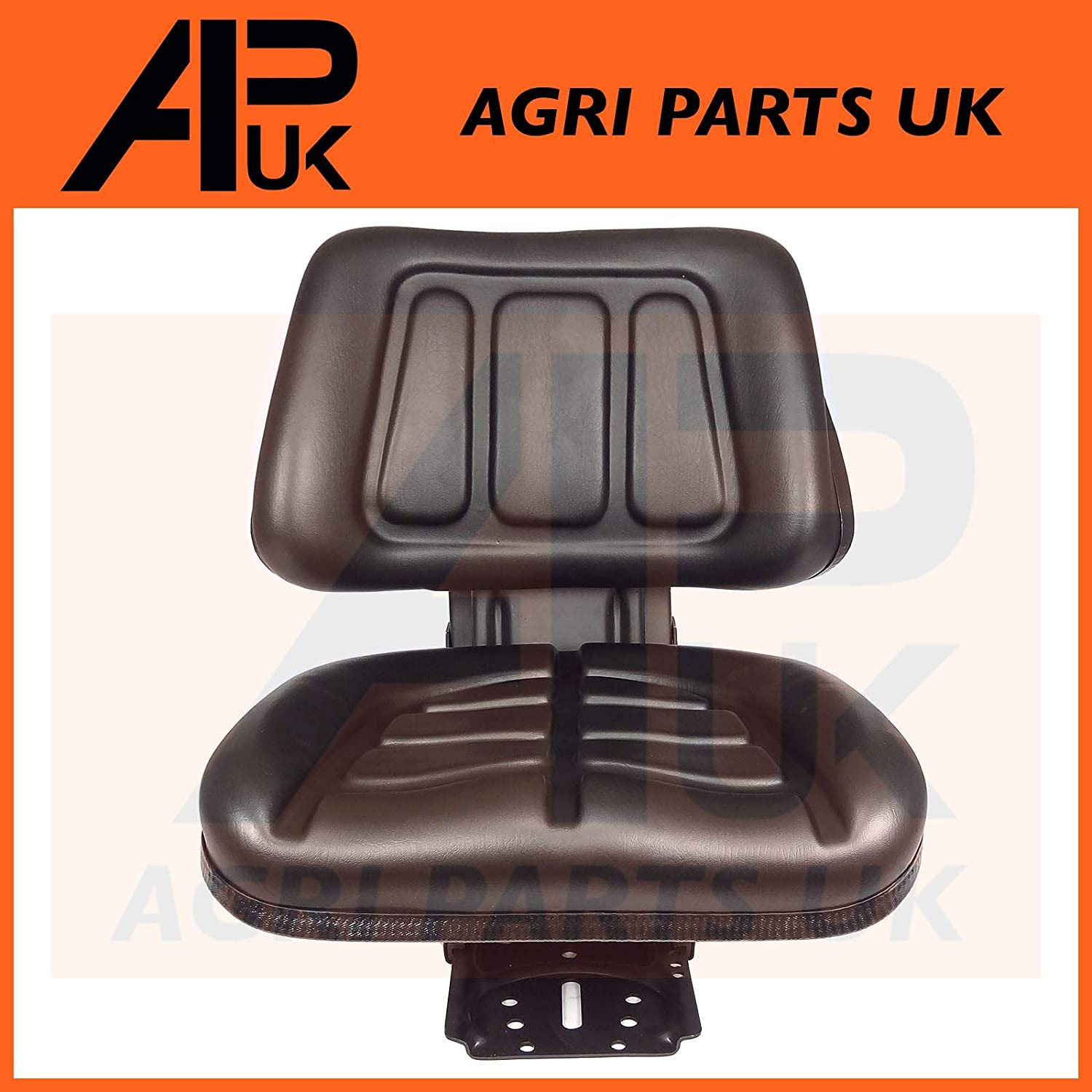 Black Suspension Seat with Height /& Weight Adjustment Compatible with Kubota Iseki Yanmar Tractor
