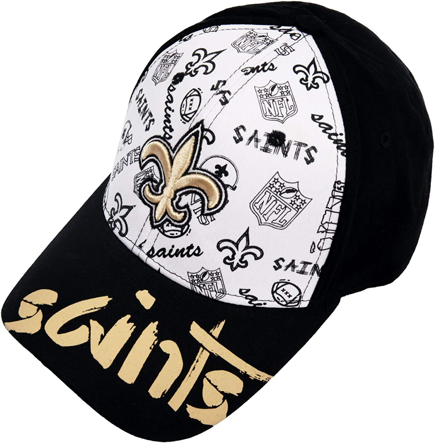 ZEWLLY Football Team Adjustable Relaxed Fit Hat Super Bowl Baseball Cap