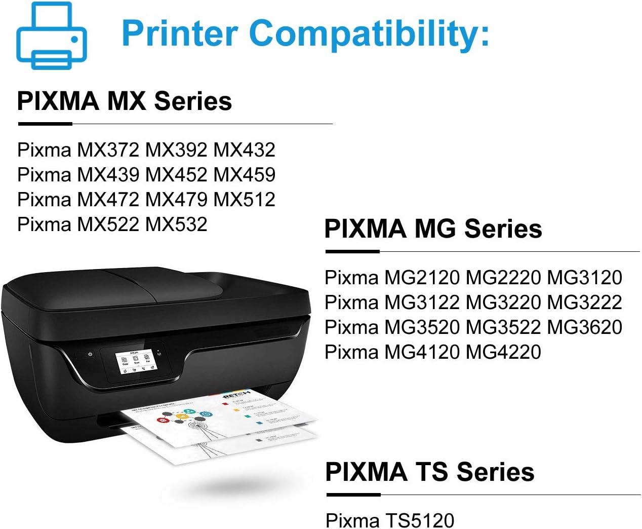 Amazon.com: Retch - Cartuchos de tinta para Canon PIXMA ...