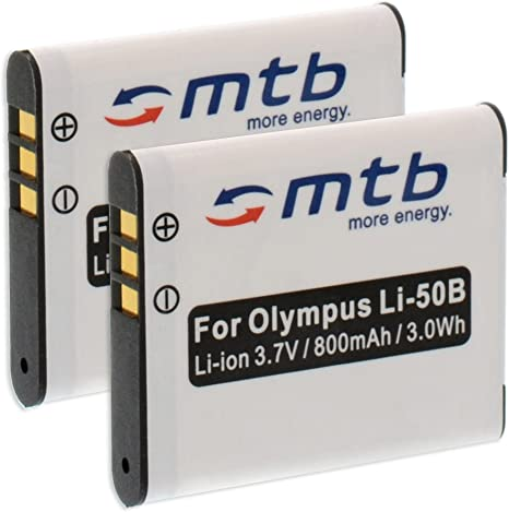 Bateria para olympus vr-370 accu batería batería de repuesto Li-ion
