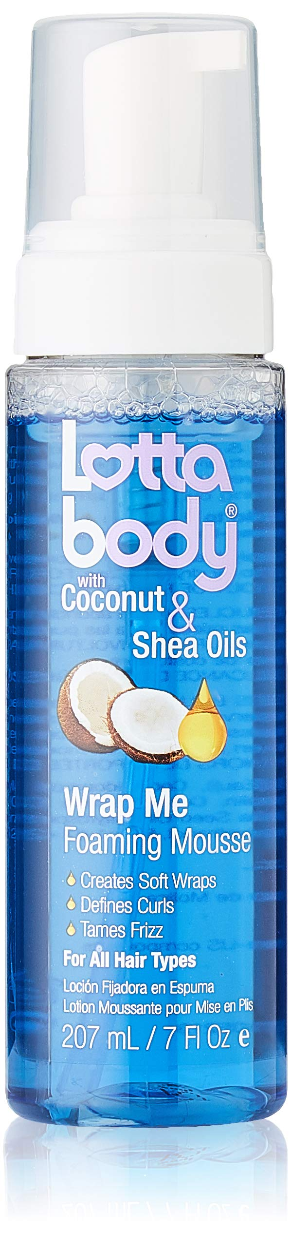 Lotta Body Wrap Me Foaming Mousse with Coconut and Shea Oil, 7 Ounce