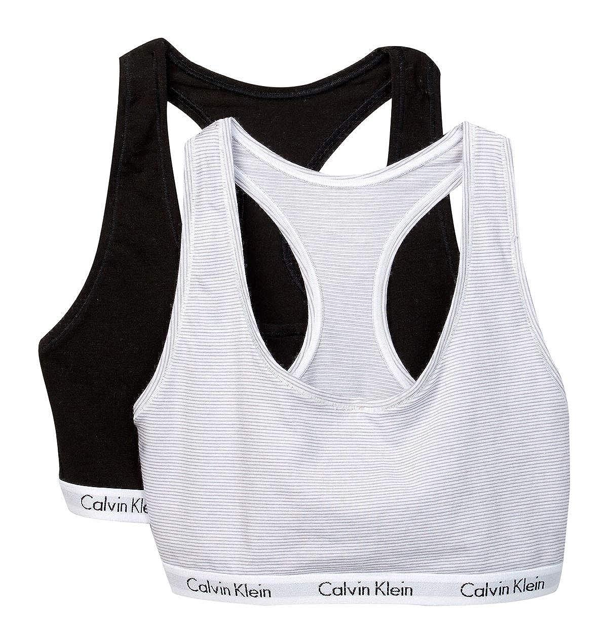 Calvin Klein Mujer QP1036 Sujetador - - Large: Amazon.es: Ropa y ...