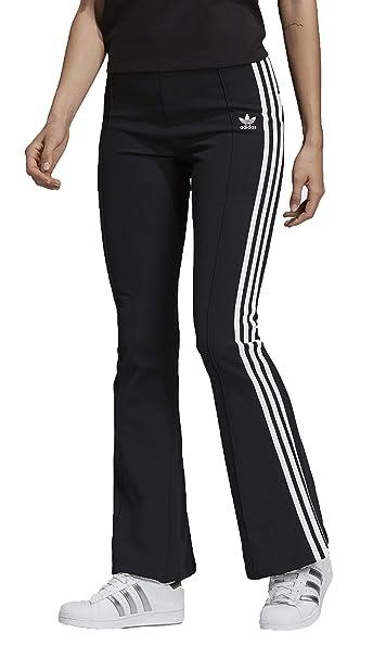 Dv2602 A Pantaloni Zampa Donna Adidas 34 Neri Trackpant Flared gHBWxf4