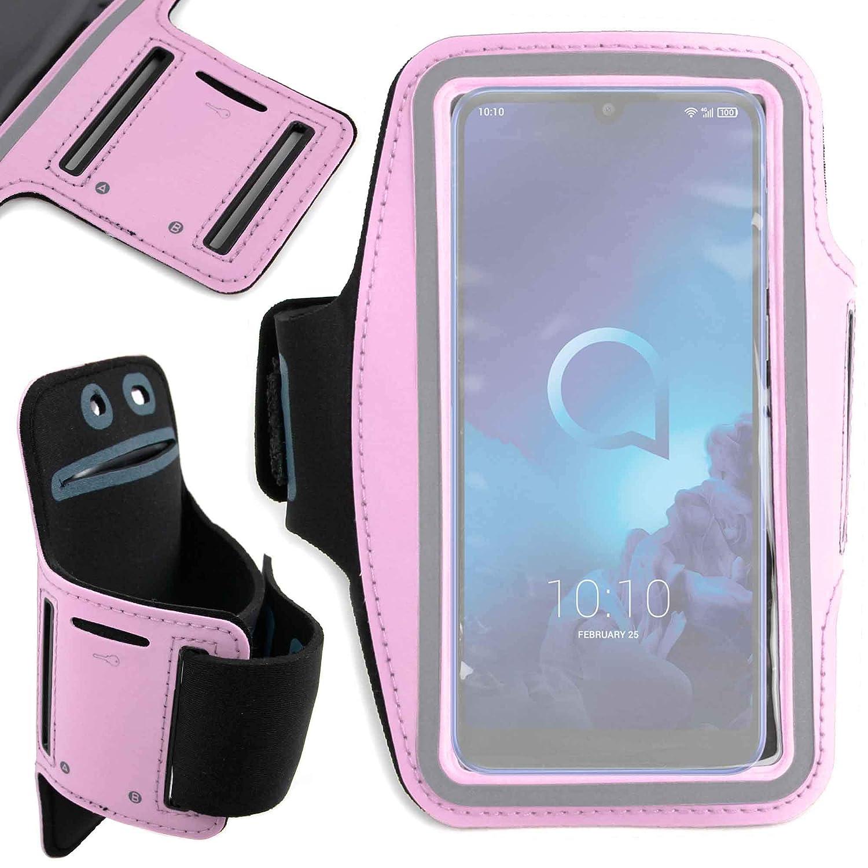 DURAGADGET Brazalete Deportivo Rosa para Smartphone Xiaomi Mi Mix ...
