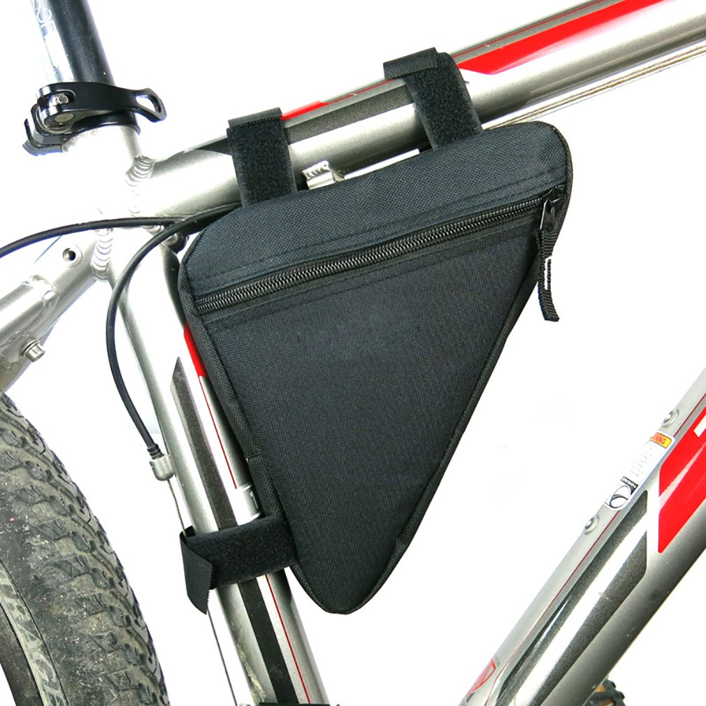 NorSway Bike Frame Bag Waterproof Strap-on Bicycle Pouch for Cell Phone Repairing Tool NSWBag002