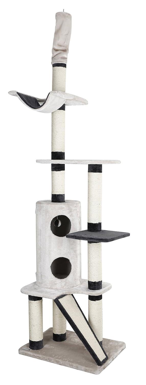 Grey 230 x 265 cm Grey 230 x 265 cm Kerbl Uptown Cat Tree, 230 x 265 cm, Grey