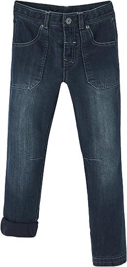 Vertbaudet Robuste Jeans für Jungen, gefüttert: