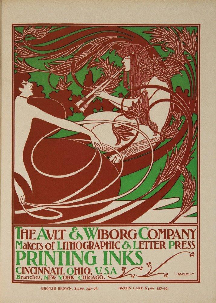 AultとWiborgポスターアルバムページヴィンテージポスター(アーティスト: Bradley ) USA C。1902 36 x 54 Giclee Print LANT-61453-36x54 36 x 54 Giclee Print  B01MG09YJY