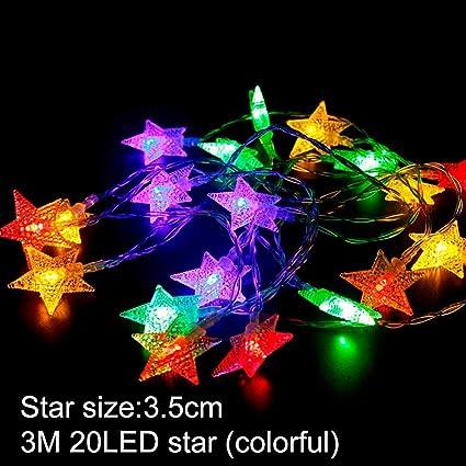 b884b53e Amazon.com: CHITOP LED String Light Christmas Tree Decoration ...