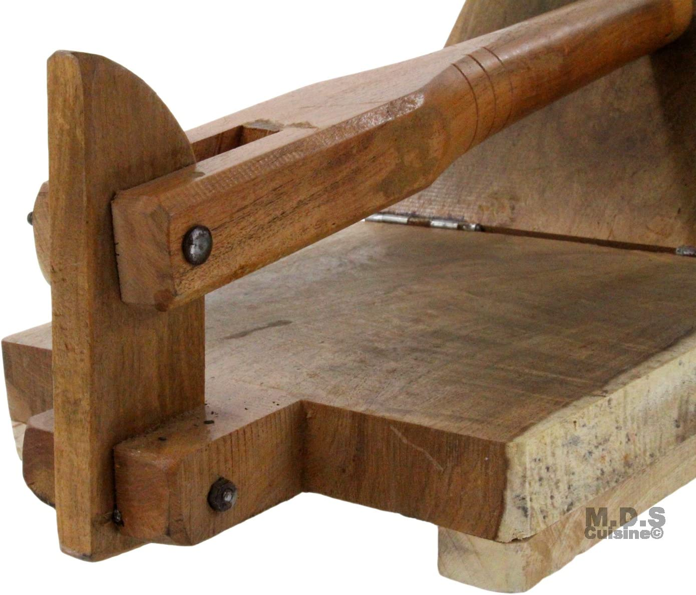 Hemoton Wooden Tortilla Press Traditional Wood Tortilla Maker ...