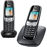 Gigaset C620 Duo Téléphone sans Fil DECT/GAP 2 Combinés Noir