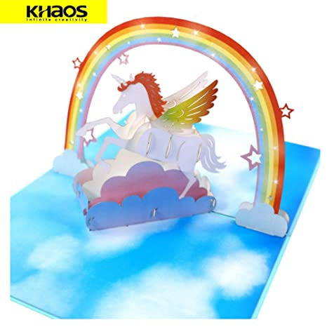 Amazon.com: Khaos - Tarjeta desplegable para el día del ...