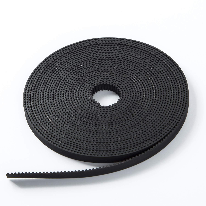 S.Y.M 3D Printer Pen Timing Belt 6mm Width Rubber Fiberglass for 3D Printer (Opened-Belt) 10M Printer Accessories by S.Y.M (Image #3)
