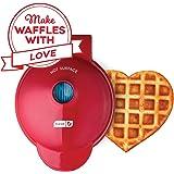 Dash DMW001HR Machine Mini Maker-Waffle, Red Heart