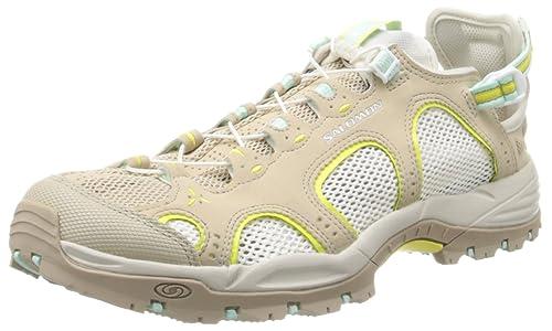 540d0889655b Salomon Women s Techamphibian 3 Athletic Sandals Beige Size  4 UK ...