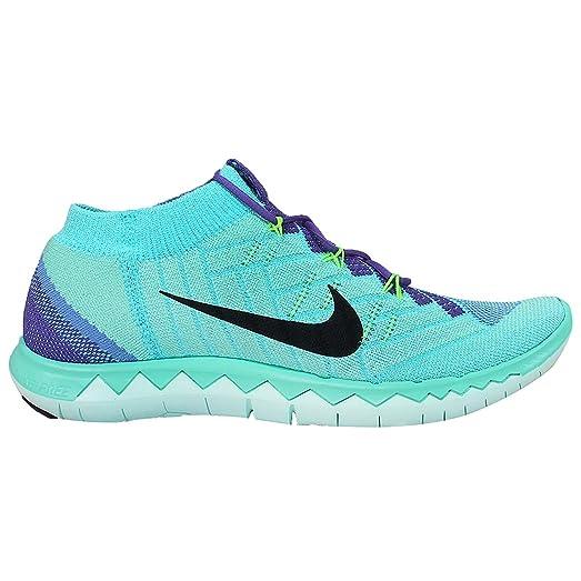 Nike Free 3.0 Flyknit Femmes Chaussure De Course Bain Vert / Turquoise Meilleure vente jeu jeu profiter visite de sortie 71p45wgHrX
