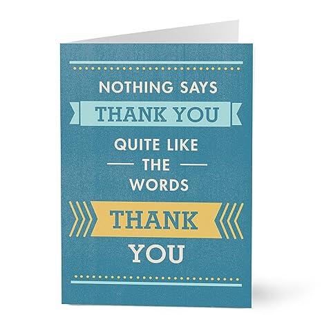 Amazon Com Hallmark Business Thank You Card Employee Thank You