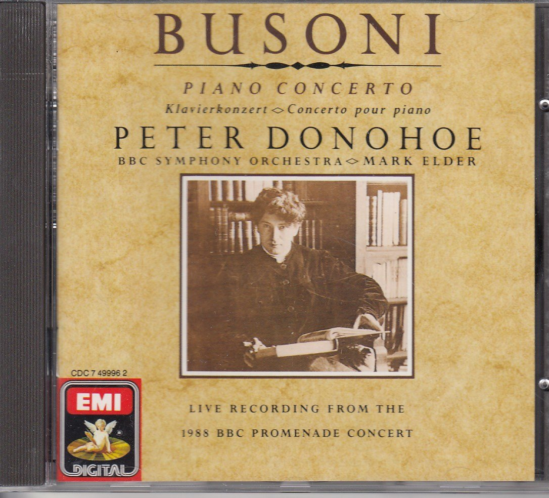 Busoni: Piano Concerto by EMI Digital