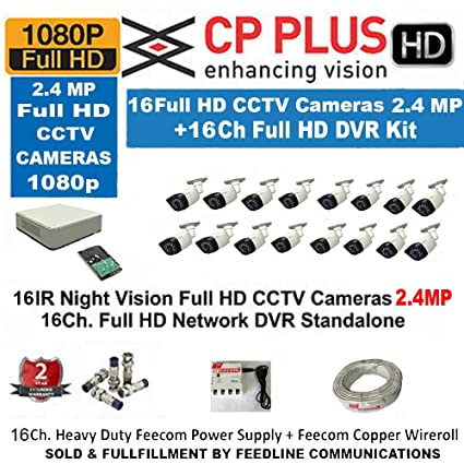 Buy Cp Plus 16 Channel Dvr 16 Cp Plus Camera 2tb Surveillance